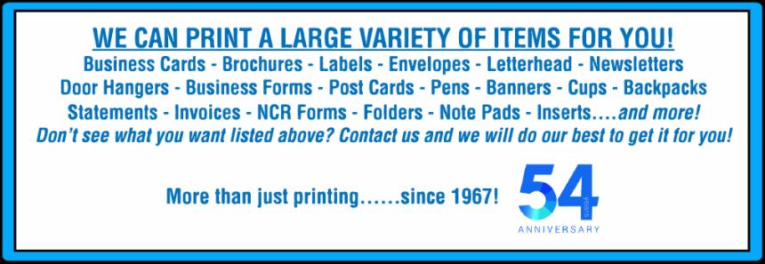 items prints